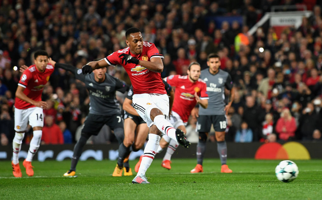 Tony Martial scores again
