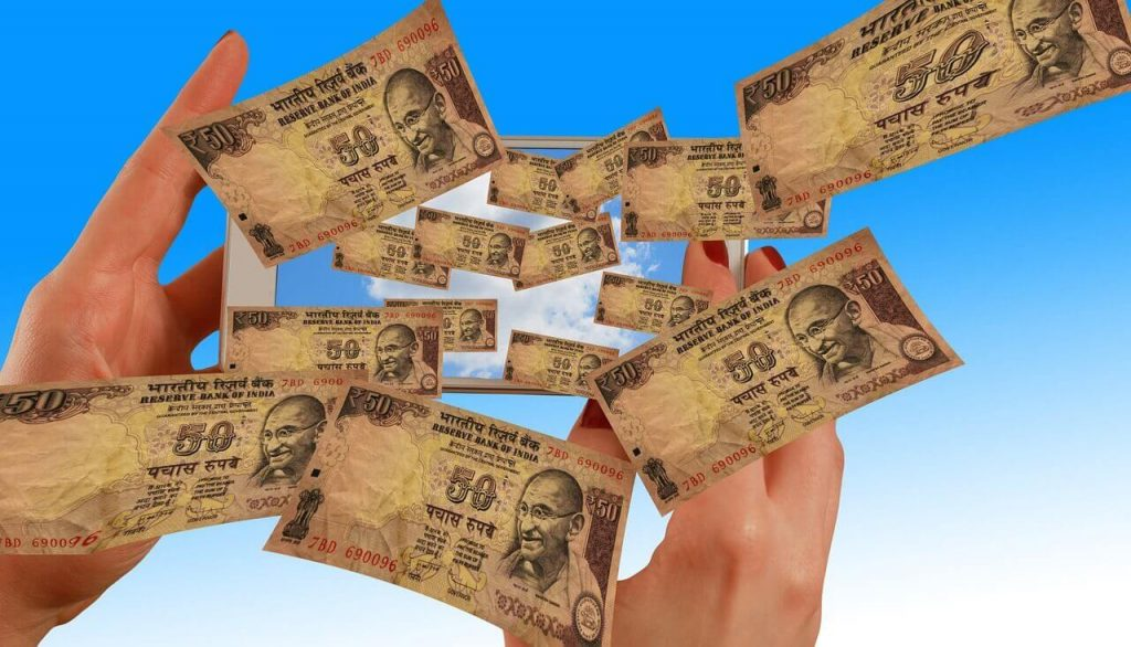 Win rupee from betting