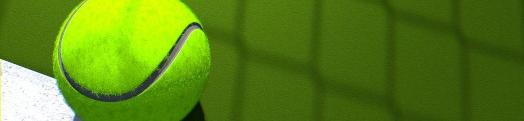 الرهان لعبة التنس