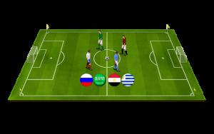 فرق عربية في كأس العالم