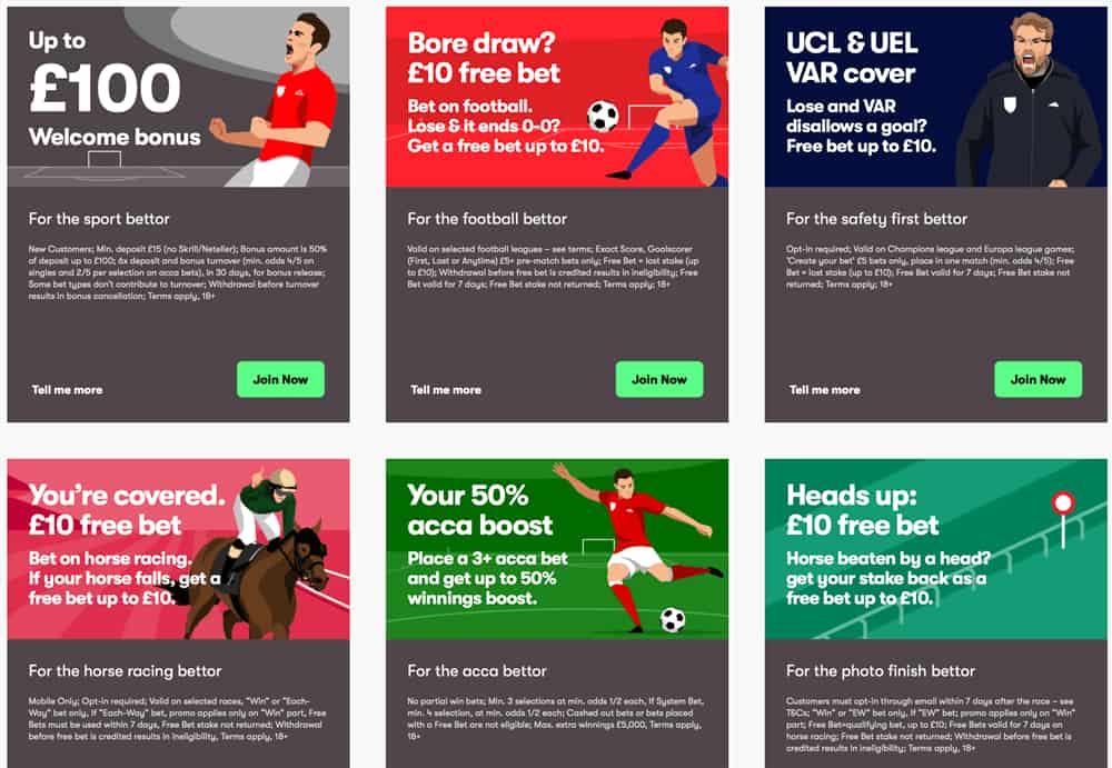 10bet.com المكافآت والعروض الترويجية